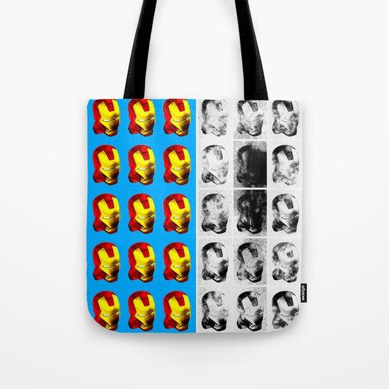Iron Man Diptych Tote Bag