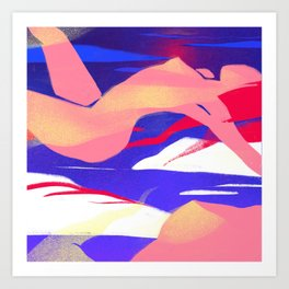 Women Ascending Art Print