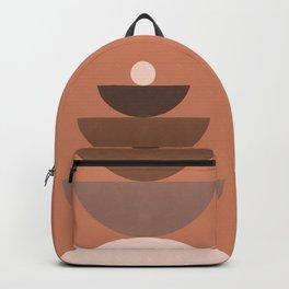 Abstraction_BALANCE_Bohemian_Minimalism_Art_001 Backpack