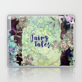 Fairy Tales Floral Fantasy Scroll Laptop & iPad Skin