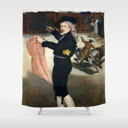 Édouard Manet - Mademoiselle V. . . in the Costume of an Espada Shower Curtain