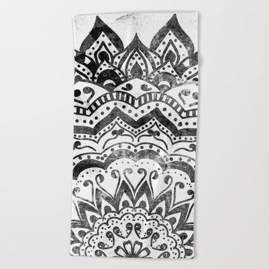 ORION JEWEL MANDALA Beach Towel