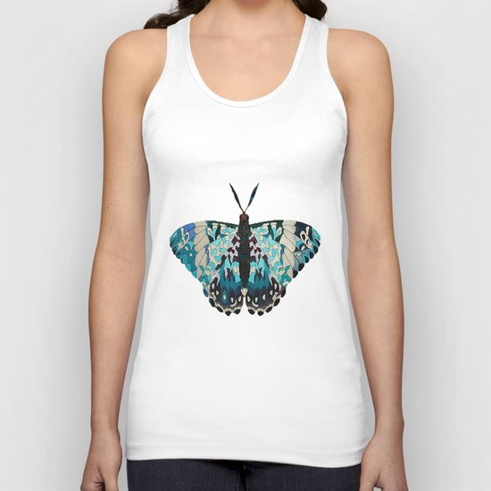 Butterfly Painting Unisex Tank Top