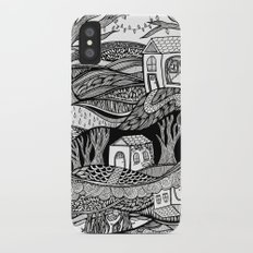 Two Worlds iPhone X Slim Case