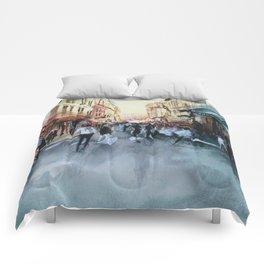 PARIS Street - Painting Comforters