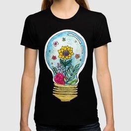 Watercolor Magic Plant Bulb T-shirt
