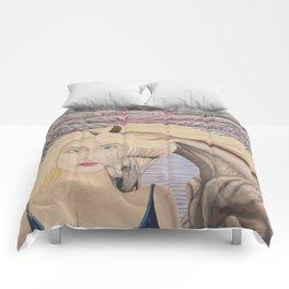 L'amour mêlé Comforters