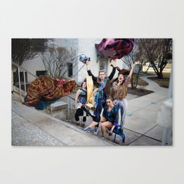 Thrift Shop Canvas Print