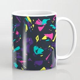 Colorful Madness Pattern Dark Coffee Mug