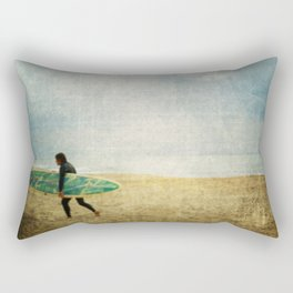 Settling on Betrayal Rectangular Pillow