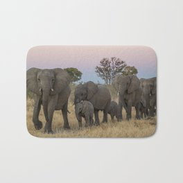 To the Watering Hole Bath Mat