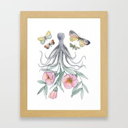 Octopus Garden Framed Art Print