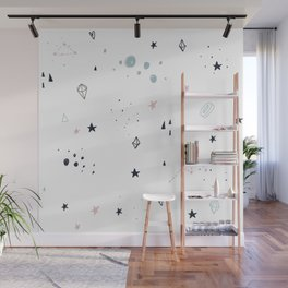 Shapes in Small Sizes Wall Mural