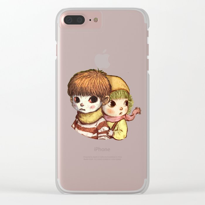 between us Clear iPhone Case