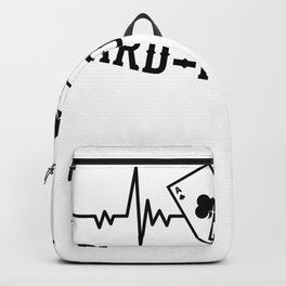 Cardiologist Cards Poker Gifts For Cardiologist Backpack