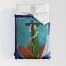 Montserrat Flag Comforters