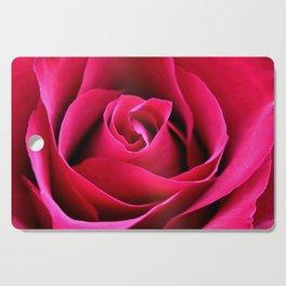Red Rose Love Cutting Board