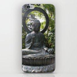 Tea Garden Buddha iPhone Skin