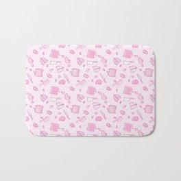 Sweet Yandere (Pink) Bath Mat