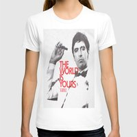 scarface T-shirts featuring SCARFACE by I Love Decor