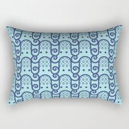 Octopus Pattern Rectangular Pillow