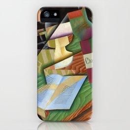 """Juan Gris """"Le livre (The book)"""" iPhone Case"""