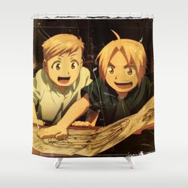 FullMetal Alchemist Shower Curtain