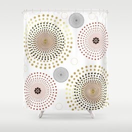 SphericaL 2 Shower Curtain