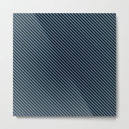Niagara and Black Stripe Metal Print