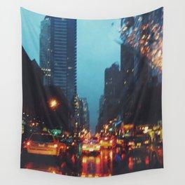 Rainy NYC Wall Tapestry