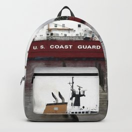USCG Mackinaw docked Backpack