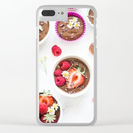 treat yourself Clear iPhone Case