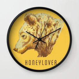Honeylover Wall Clock