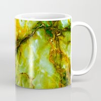 white marble Mugs featuring Marble by Patterns and Textures