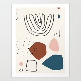 Ocean breathes salty Art Print