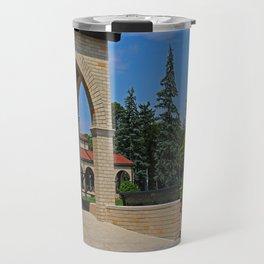 Lourdes University in the Spring II Travel Mug