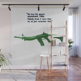 American Problems Pop-Art Gun Series #8 by Jéanpaul Ferro - 2nd Amendment Wall Mural