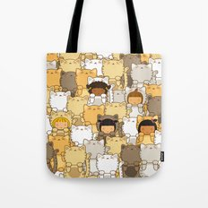 Lucky Cats Tote Bag