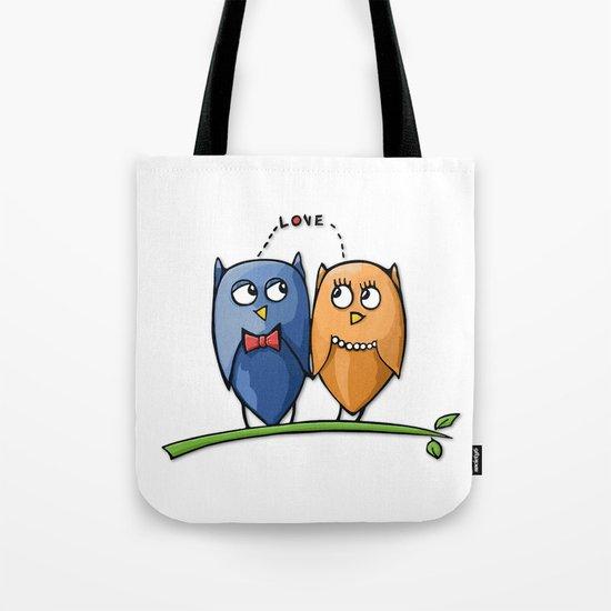 Owl Love Tote Bag