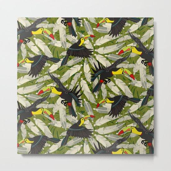 toucan jungle Metal Print
