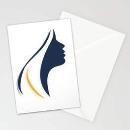 Girl / Woman Symbol (By: OneTwo) Stationery Cards
