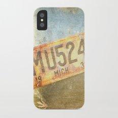 Michigan 1939 iPhone X Slim Case
