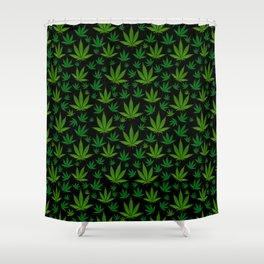 Infinite Weed Shower Curtain