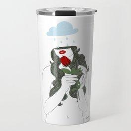 Flower Collection: Rose Travel Mug