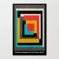 Beethoven - Symphony No. 5 Canvas Print