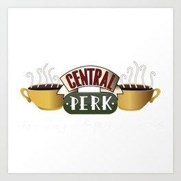 Friends - Central Perk Art Print