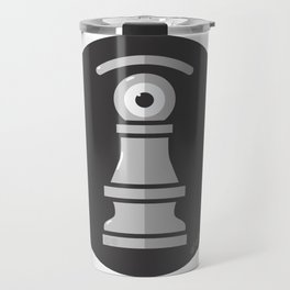 pawn's eye b&w Travel Mug