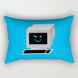 Ol' School Computing Rectangular Pillow