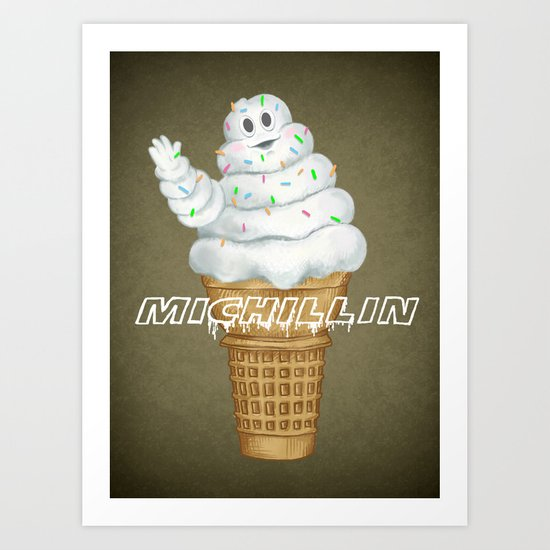 Mi..Chill..in says Hi to you! Art Print