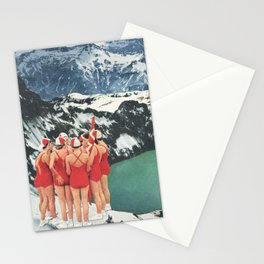 Polar Plunge Stationery Cards